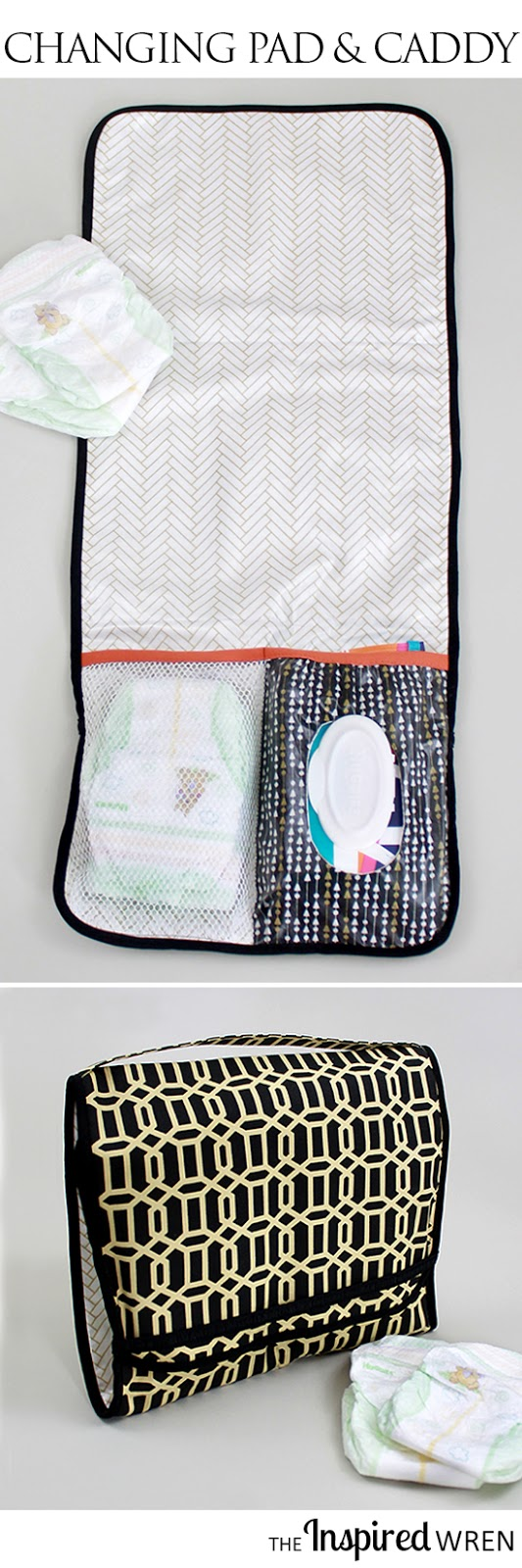 On-the-Go Diaper Caddy