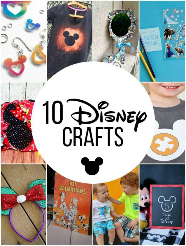 10 Disney Crafts For The Whole Family | Make And Takes