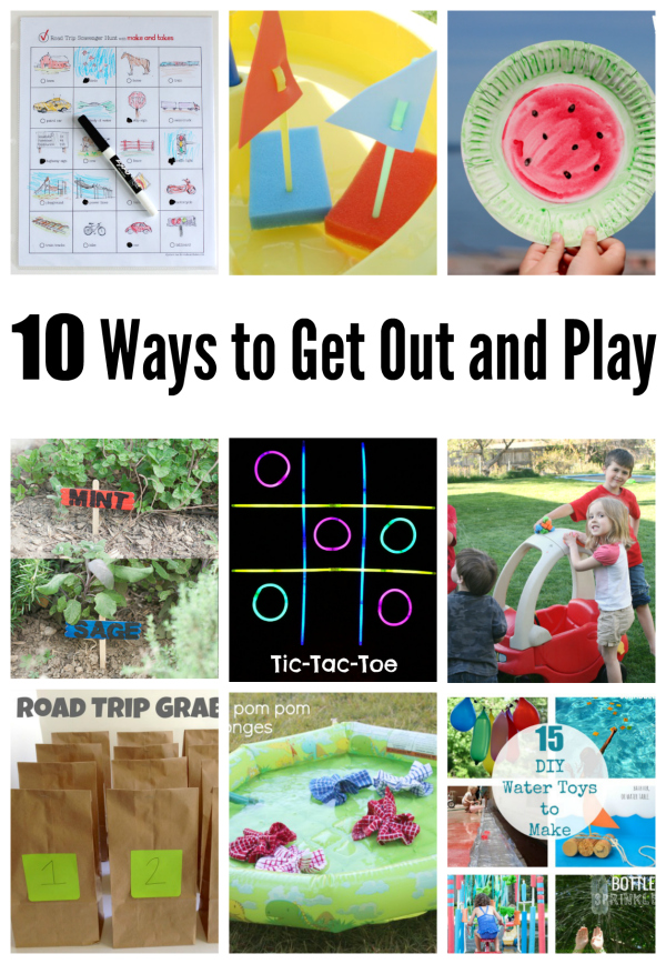 10 Ways to Get Out and Play this Summer