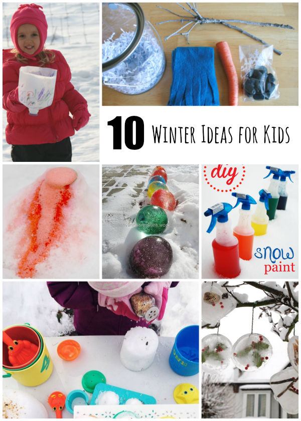 10 Winter Ideas for Kids to Play Outdoors