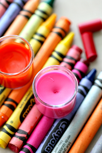 2 Ingredient Crayon Lipgloss