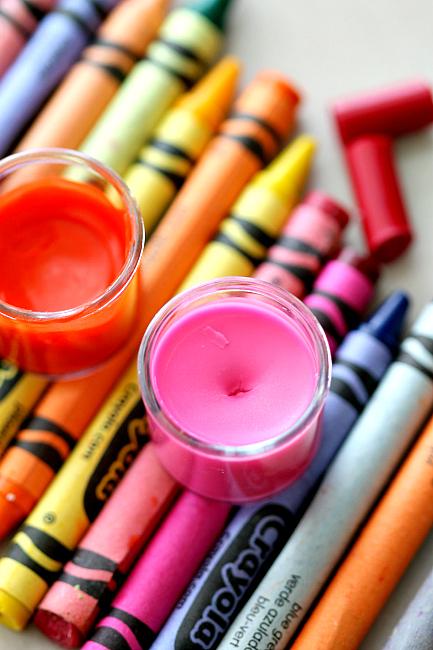2 Ingredient Crayon Lipgloss
