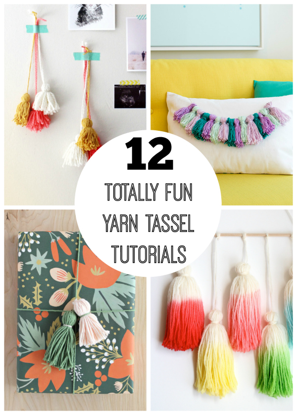 12-Totally-Fun-Yarn-Tassel-Tutorials