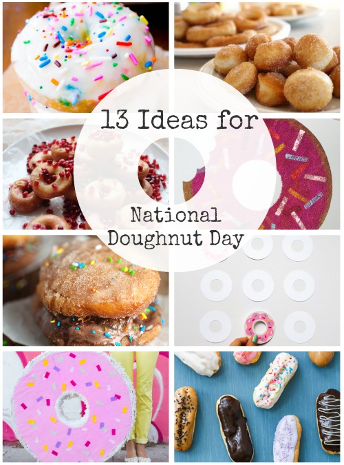 13 Crafts and Recipes for National Doughnut Day