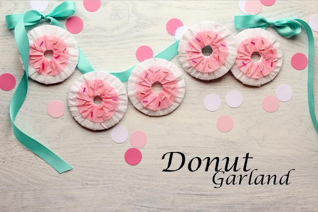 13 Doughnut Recipes and Crafts Garland