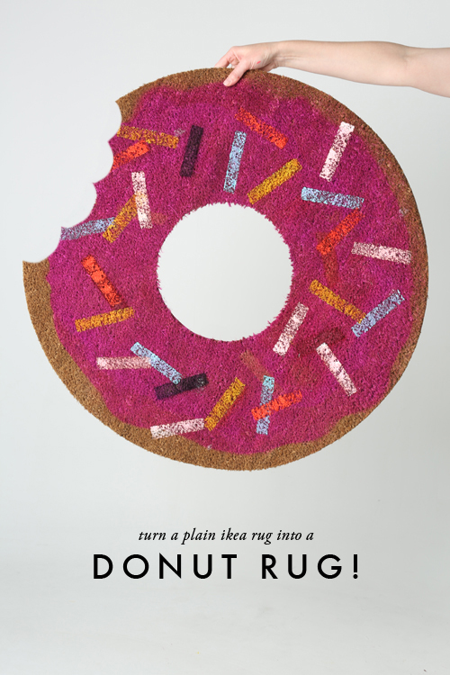 13 Doughnut Recipes and Crafts Rug