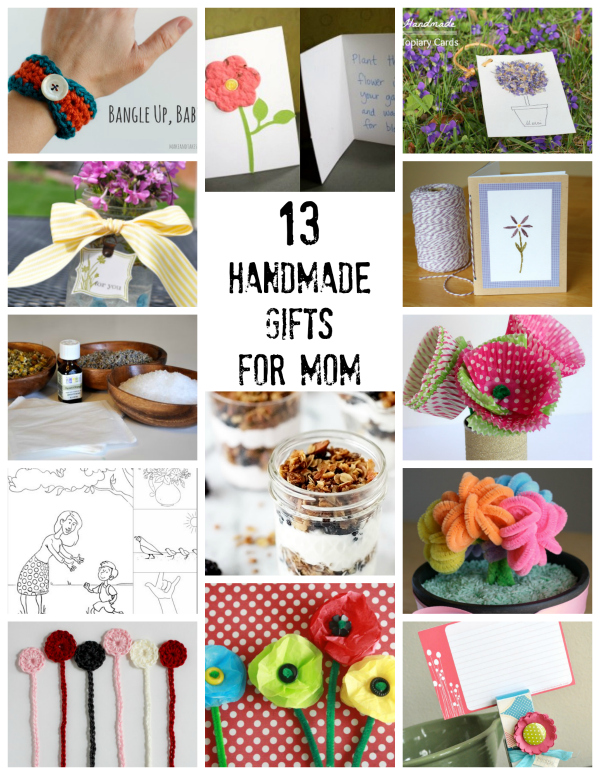 13 Handmade Gifts for Mom on Mother's Day