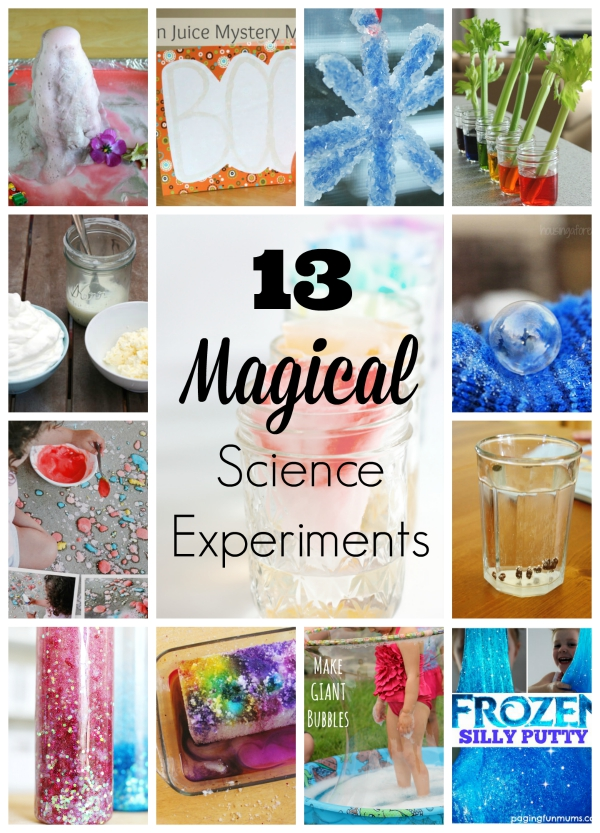 13 Magical Science Experiments For Kids Make And Takes