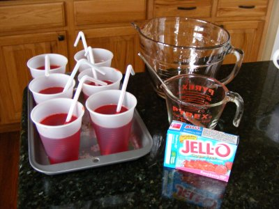 13 Tricks for an April Fool's Day Treat Jell-O Cups