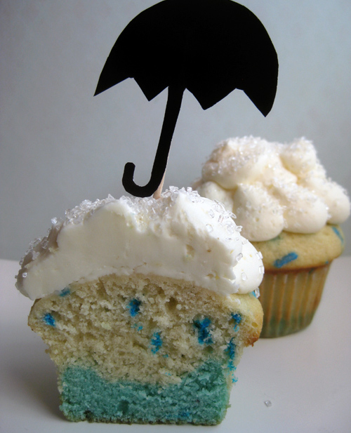 14 Rainy Day Inspired Projects to Make Cupcakes