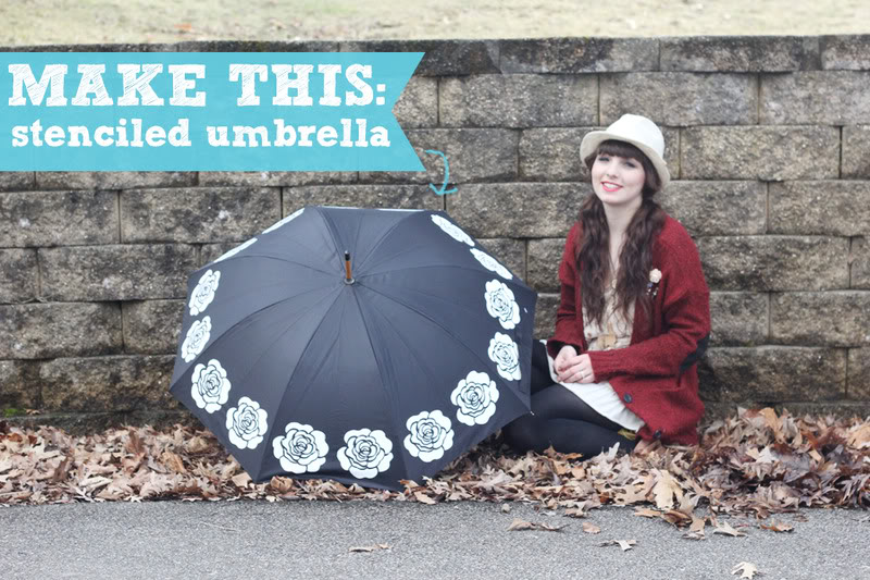 14 Rainy Day Inspired Projects to Make Umbrella Project