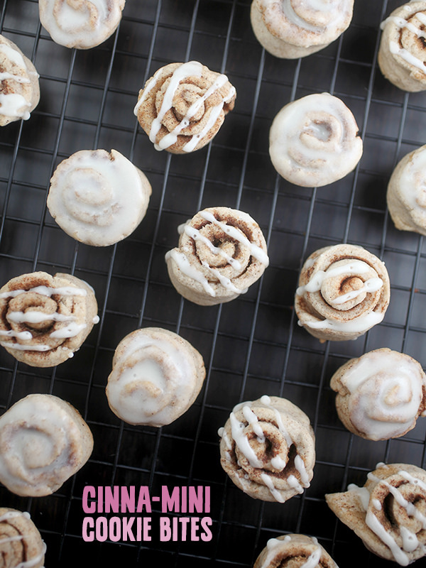 Cinnamon Mini Cookie Bites