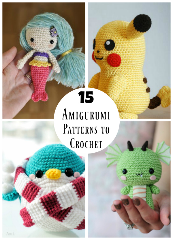 Top 25 amigurumi crochet patterns - Gathered | 832x600