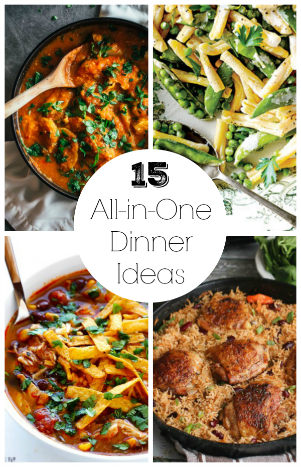 15 All-in-One Dinner Ideas