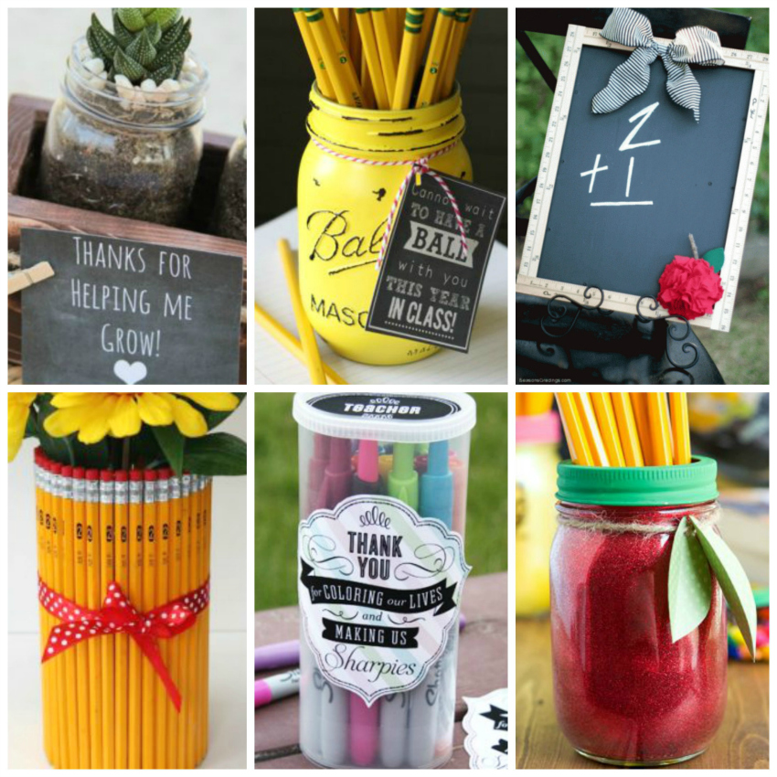 15 Back to School DIY Teacher Gifts | Make and Takes