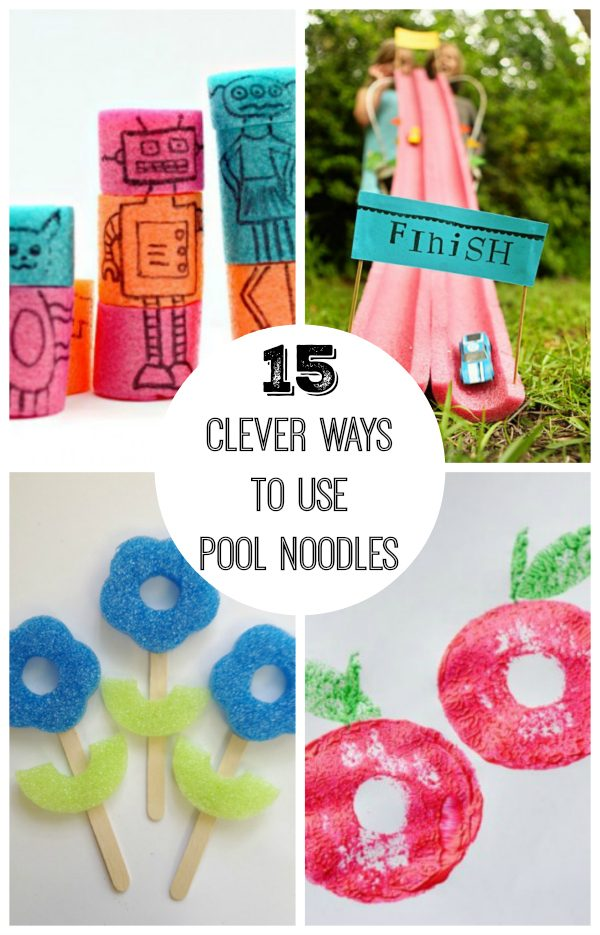 15 Clever Ways to Use Pool Noodles