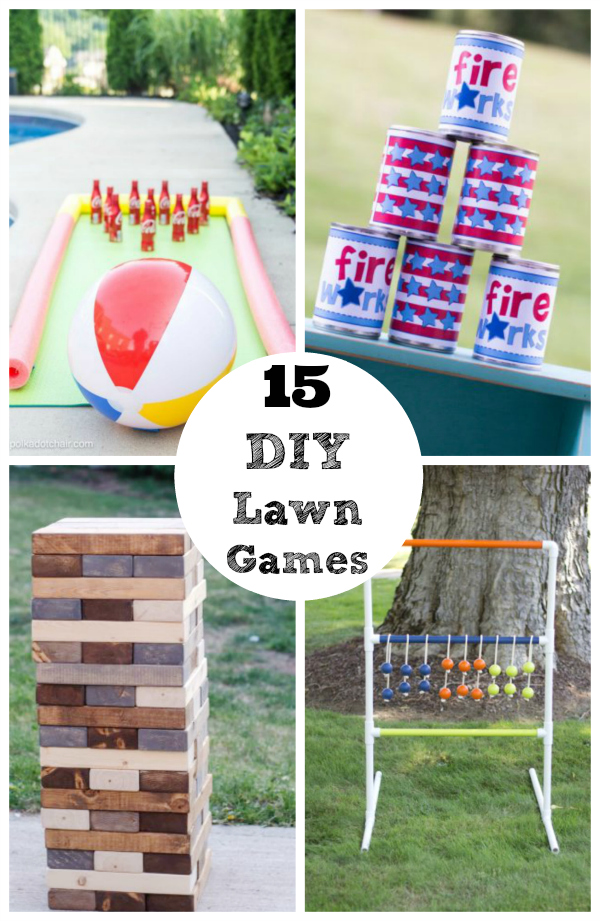 15 DIY Lawn Games to Play