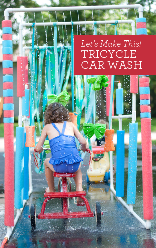 15 DIY Water Toys to Make for Summer Car Wash