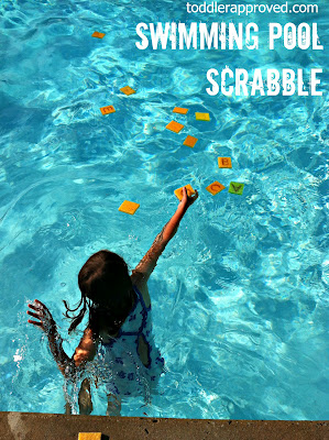 15 DIY Water Toys to Make for Summer Pool Scrabble