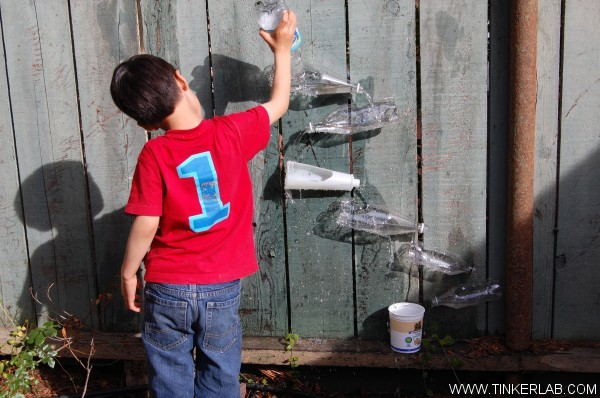 15 DIY Water Toys to Make for Summer Water Wall