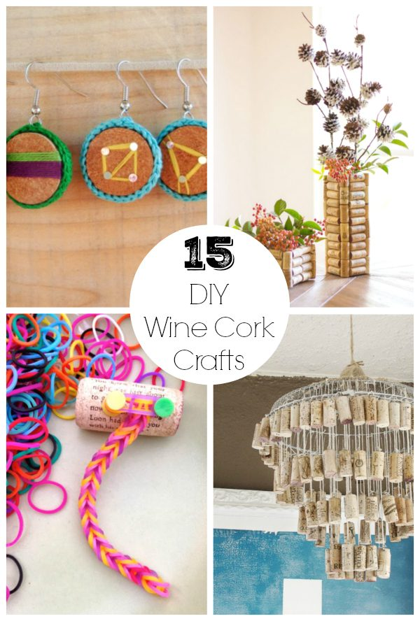 15 DIY Wine Cork Crafts