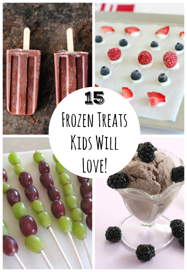 15 Frozen Treats Kids Will Love