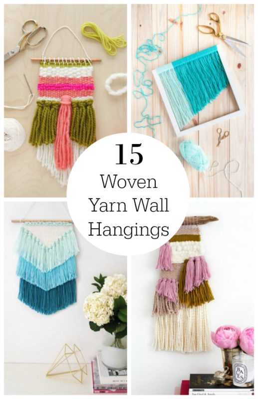 15 Gorgeous Woven Yarn Wall Hangings