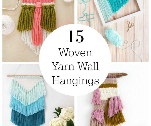 15 Gorgeous Woven Yarn Wall Hangings