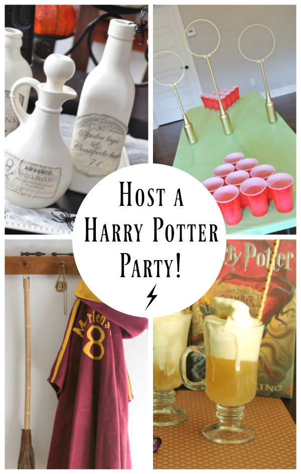 15 ideas for a hosting a harry potter party make and takes. Black Bedroom Furniture Sets. Home Design Ideas