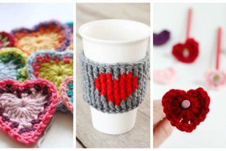 15 Heart Shaped Yarn Projects