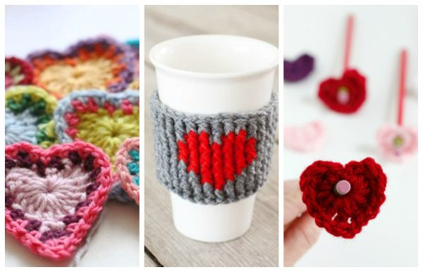 15 Heart Shaped Yarn Projects To Create Make And Takes