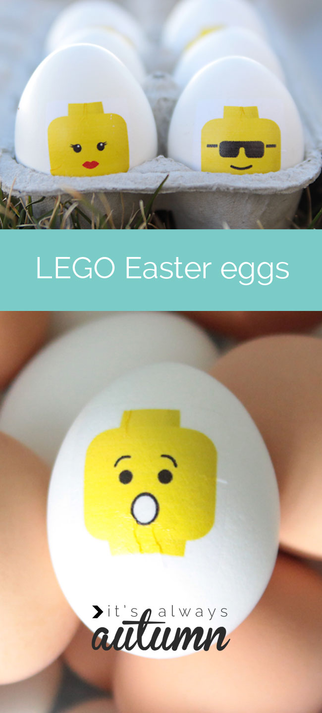 15 Ideas for a Lego Movie Party Easter Eggs