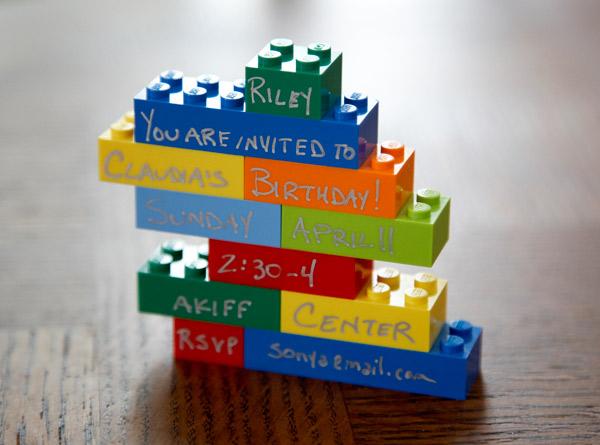 Lego Invite