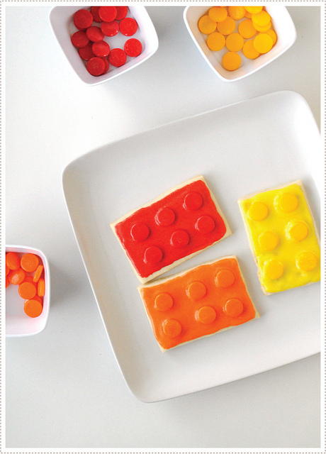 15 Ideas for a Lego Movie Party Lego Cookie