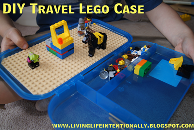 DIY Travel Lego Case