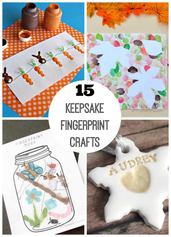 15 Keepsake Fingerprint Crafts