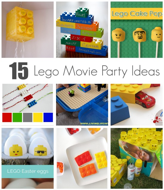 Celebrate With 15 Lego Movie Party Ideas Make And Takes