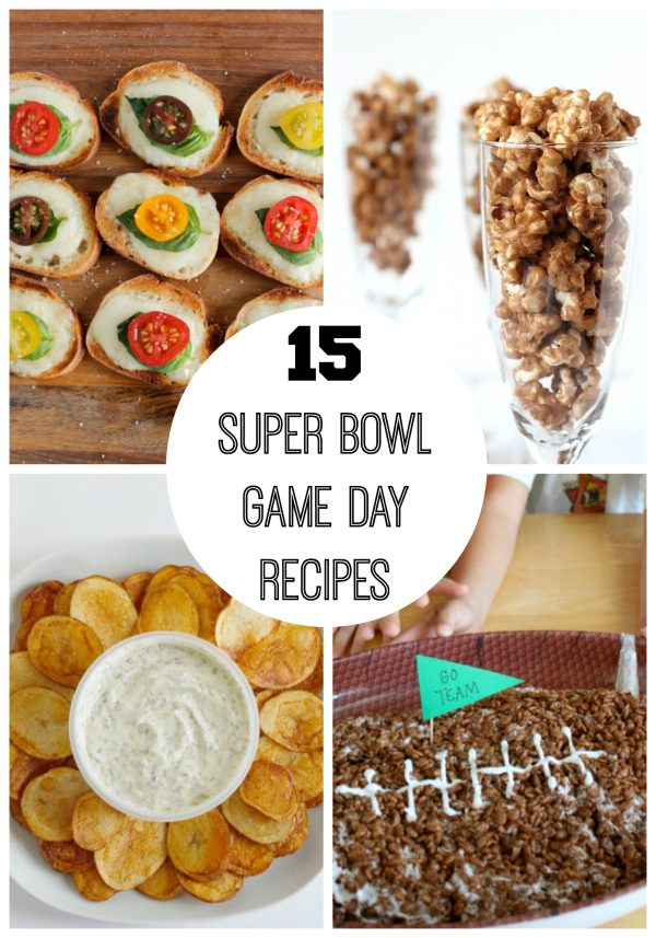 15 Super Bowl Game Day Recipes