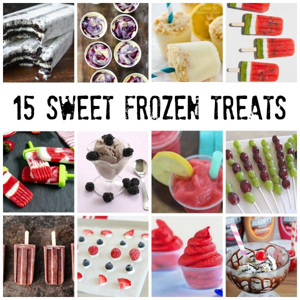 15 Sweet Frozen Treats