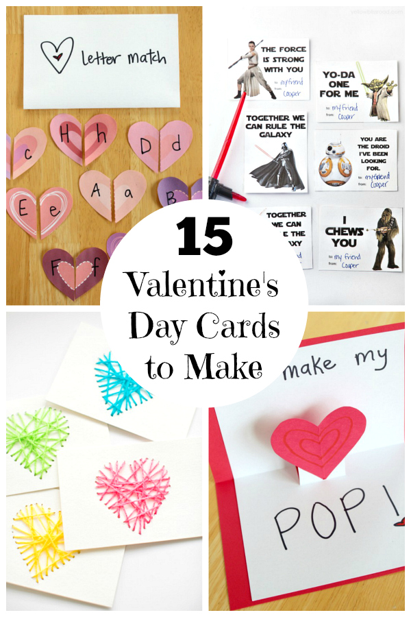 15 Valentine's Day Cards for Kids | Make and Takes