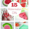 15 Watermelon DIY Projects to Make