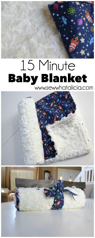 15 Minute Baby Blanket