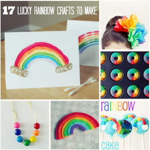 17 diy lucky rainbow crafts you 39 ll love make and takes for How to make simple crafts at home