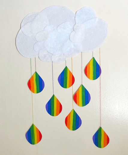17 Lucky Rainbows to Make Rainbow Raindrops