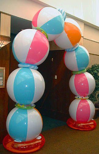 Beach Ball Party Arch