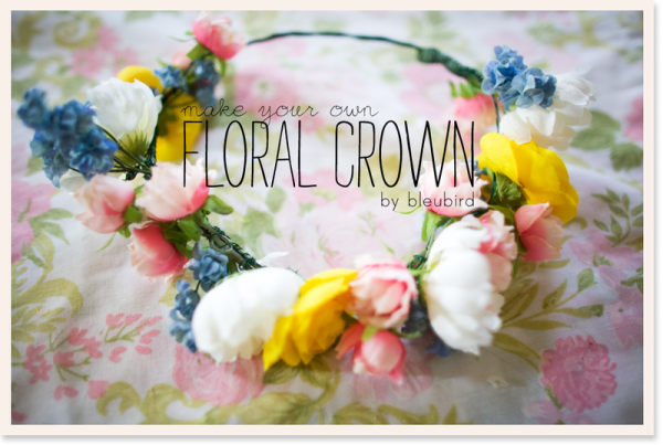 20+ Spring Flowers and DIY Vases to Make Floral Crown