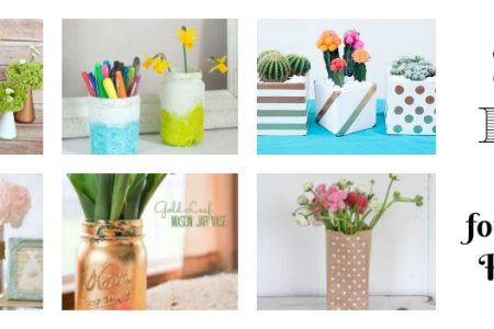 20 DIY Vases for Spring Flowers
