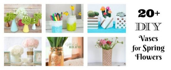 DIY Vases for Spring Flowers