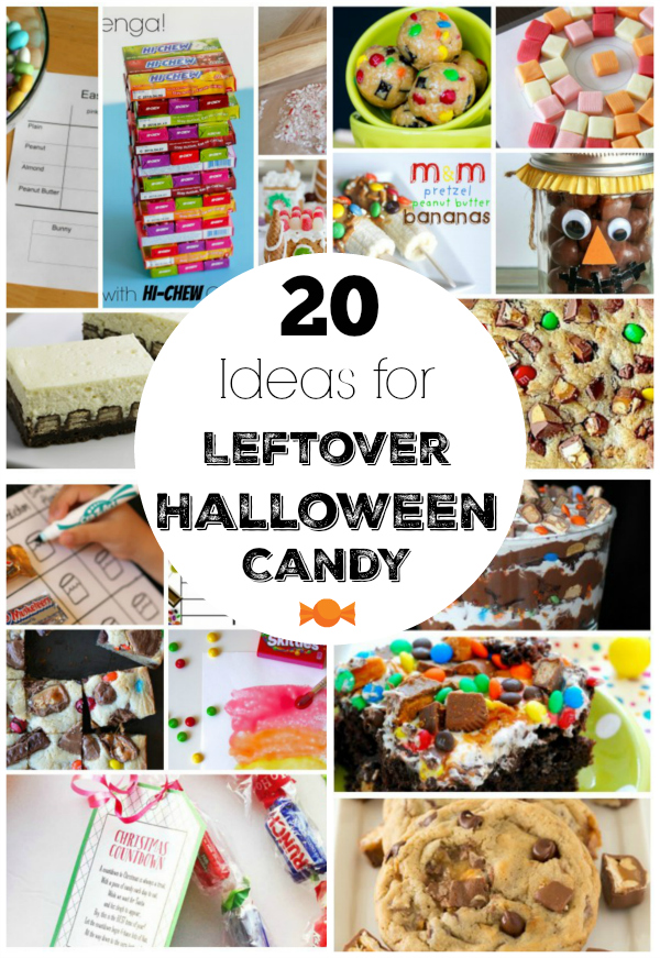 20 Ideas for Leftover Halloween Candy