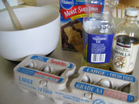 supplies for Cake Mix Snickerdoodles
